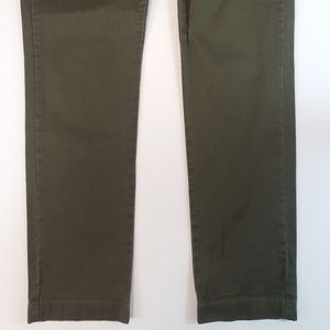 J. Crew Pants - J. Crew Stretch Pants 770 Olive Green 34x34